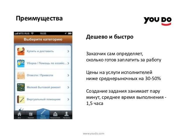 Youdo приложение скачать - фото 5