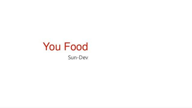 You Food    Sun-Dev
