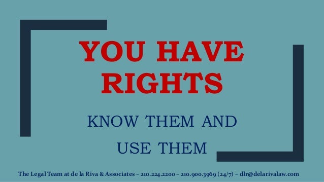 what rights should we have