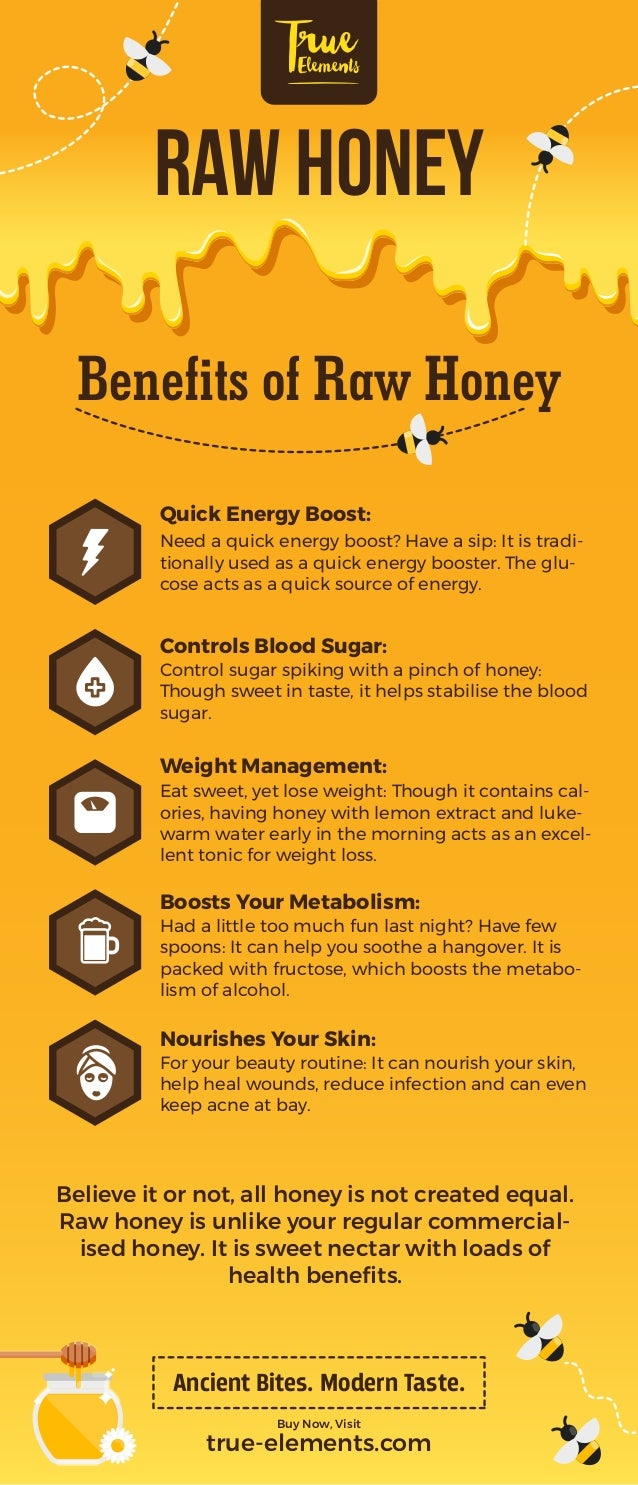 you know the magical benefits of raw honey