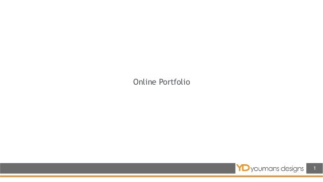 Online Portfolio 1