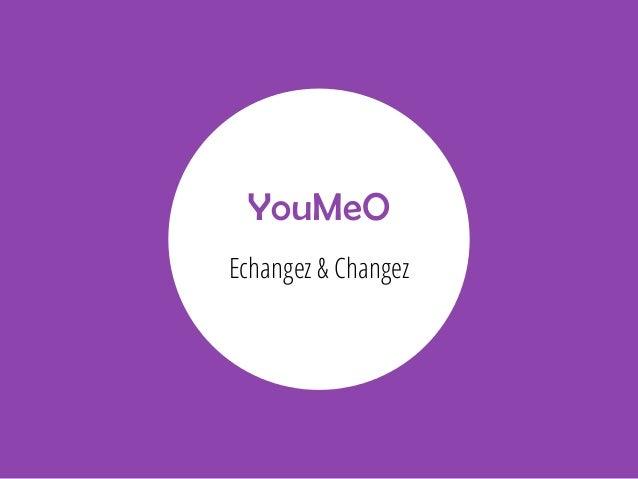 YouMeO Echangez & Changez