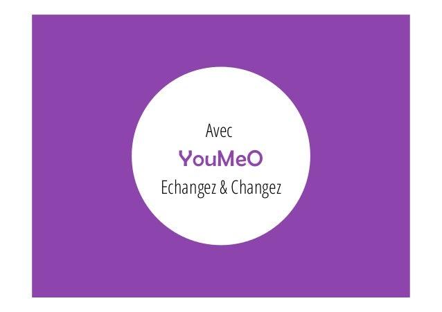Avec  YouMeO  Echangez & Changez