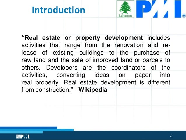 Commercial Real Estate Development : Introduction to commercial real estate development