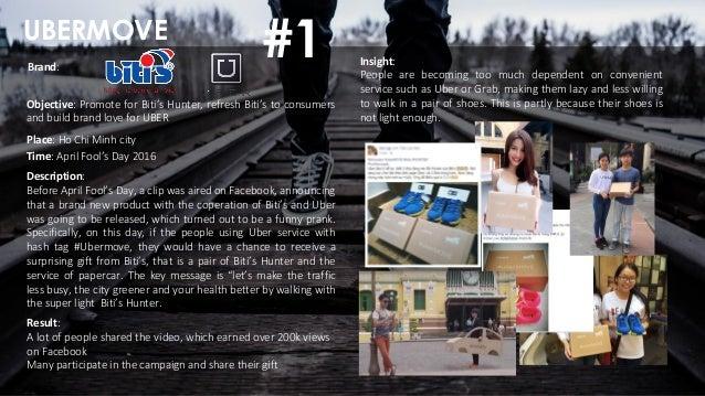 UBERMOVE Place: Ho Chi Minh city Objective: Promote for Biti's Hunter, refresh Biti's to consumers and build brand love fo...