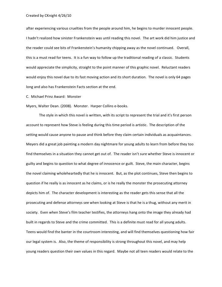 Frankenstein bibliography