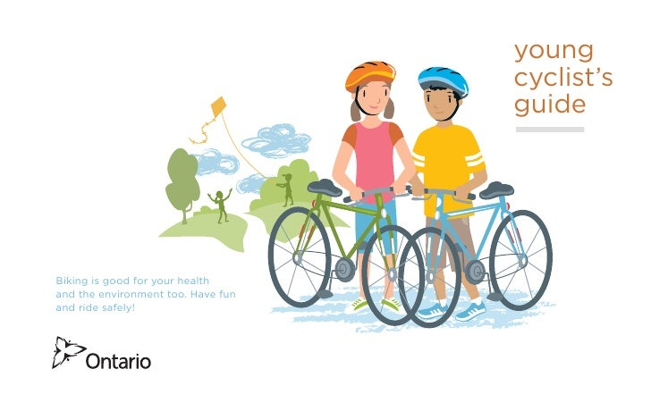 young                                    cyclist's                                    guideBiking is good for your healtha...
