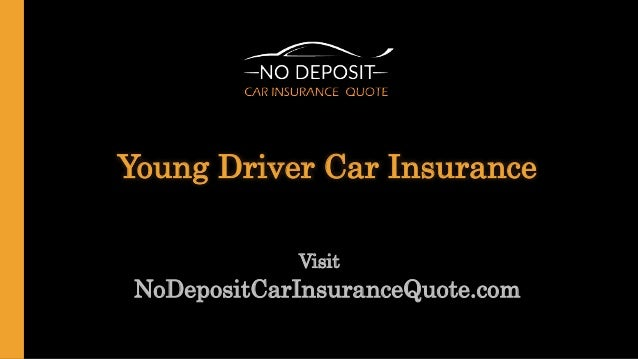 Young Person Car Insurance Quotes