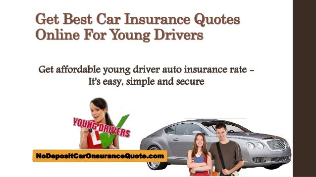 Cheapest Car Insurance Quotes For Young Drivers