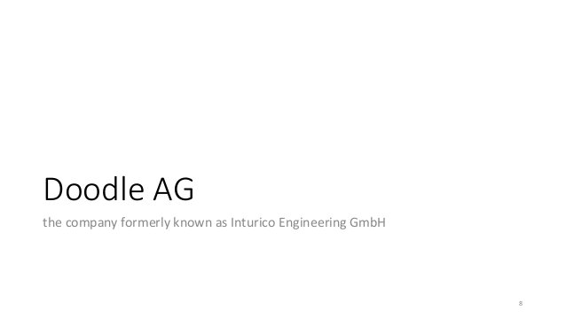 Doodle AG the company formerly known as Inturico Engineering GmbH 8