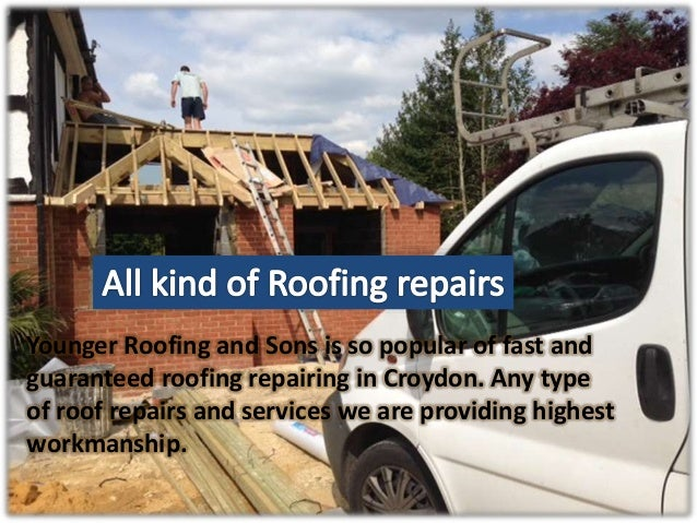 Why people in South Croydon choose us always for Roofing?  Slide 3