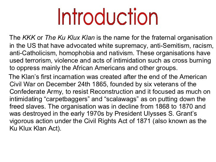 the ku klux klans uncountable number of human rights violation A volunteer human rights group - choose recruiters for the ku klux klan have been the letter and the website do not list a phone number.