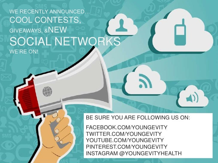 WE RECENTLY ANNOUNCED…COOL CONTESTS,GIVEAWAYS, &NEWSOCIAL NETWORKSWE'RE ON!                    BE SURE YOU ARE FOLLOWING U...