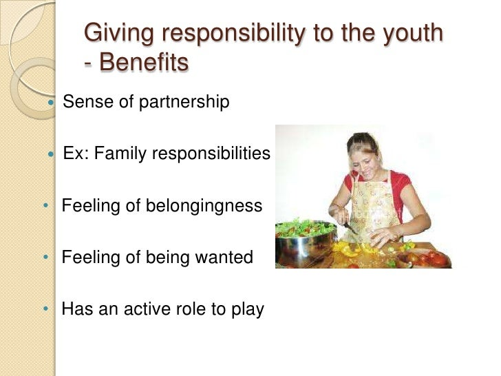 responsibility of youth