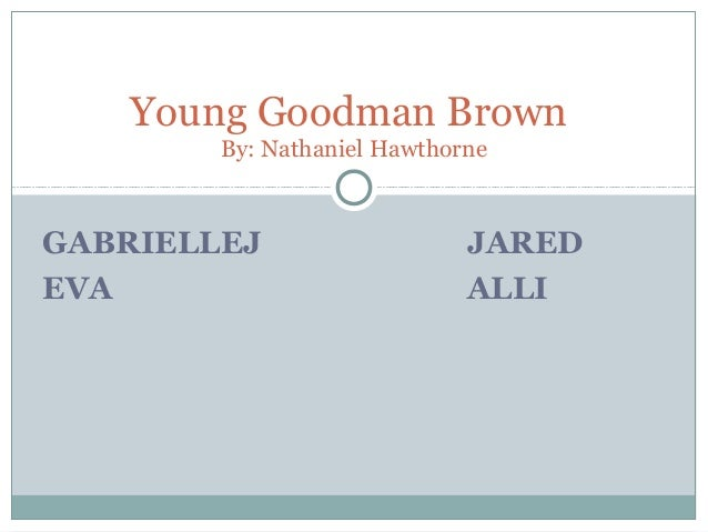 young goodman brown study questions