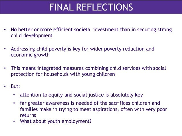 an overview of the childhood education and social inequalities J(2012) social mobility and education gaps in the four major  and timely  agenda for this review of the power of early education to counter.