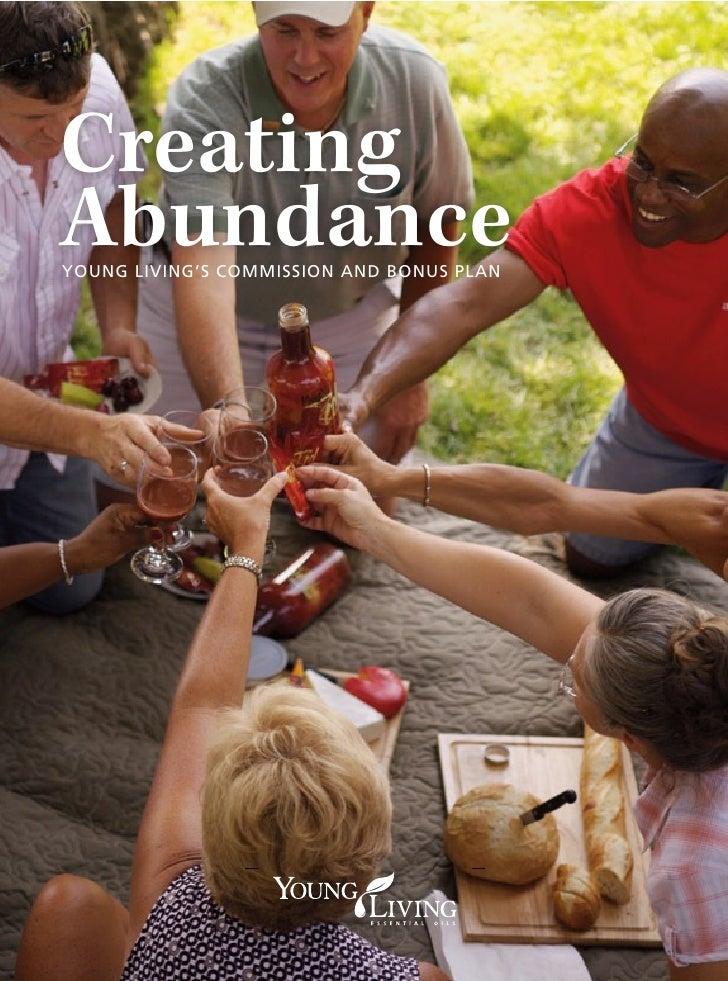 Creating Abundance Young Living's Commission and Bonus PLan