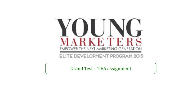 Grand Test – TEA assignment