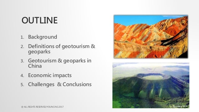 Economic Impacts of Geotourism and Geoparks in China: Dr Young Ng Slide 2