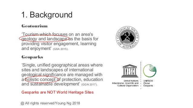 Economic Significance of Geotourism and Geoparks in China: Dr Young Ng Slide 3
