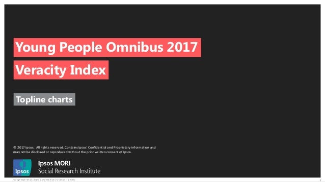 © 2017 Ipsos. All rights reserved. Contains Ipsos' Confidential and Proprietary information and may not be disclosed or re...