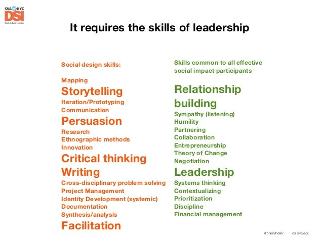 the leader as a social architect Six social-media skills every leader needs the leader as architect: creating a social architecture that provides a meaningful space for internal and external.
