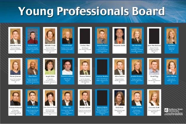 Young Professionals Board Johnathan Clark             Zachary Cole               Michelle Cronk                    Lora De...