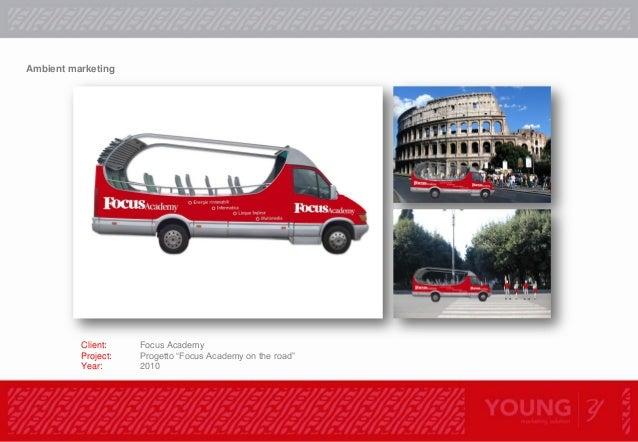 "Operazione ""Body advertising"". Client Focus Academy Brand Focus Category Activity Visibility Network presidio urbano Perio..."