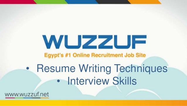 Resume Writing Techniques U2022 Interview Skills ...