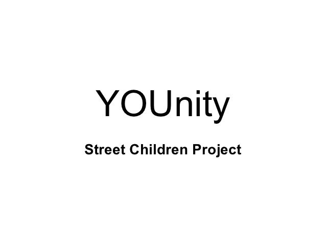 YOUnityStreet Children Project