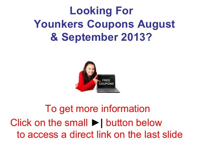 photo about Younkers Coupons Printable named Younkers Coupon codes August September 2013