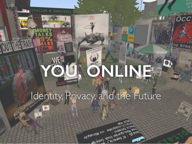 YOU, ONLINE Identity, Privacy, and the Future 1