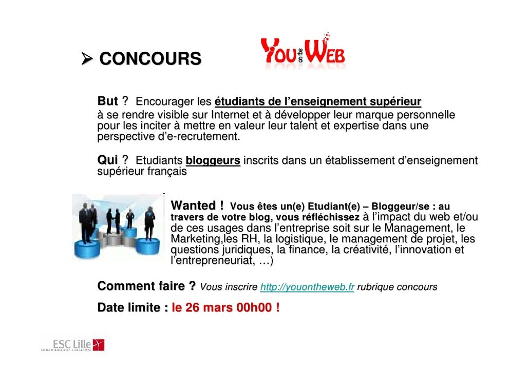 YouontheWeb Concours Slide 3