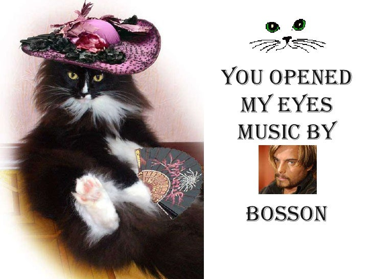 You opened my eyes       music bybosson<br />
