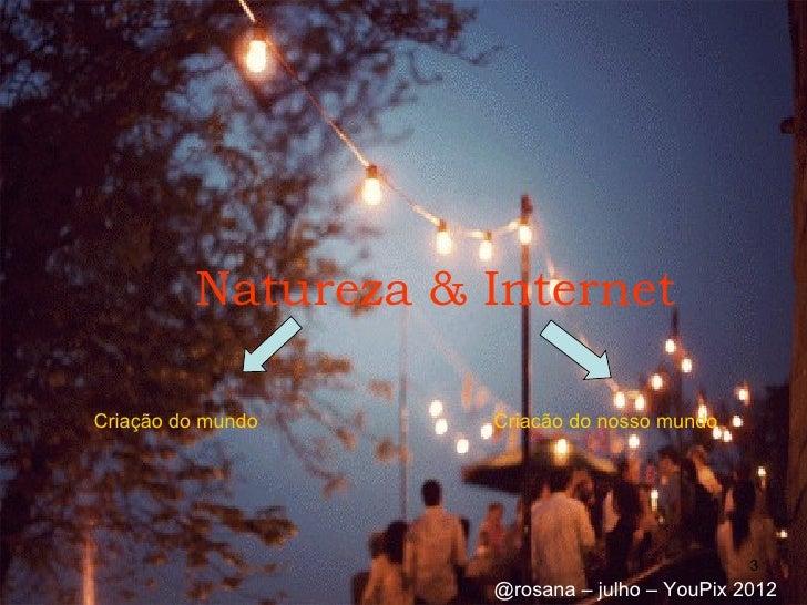 Natureza & InternetCriação do mundo    Criacão do nosso mundo                                              3              ...