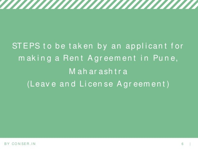 Documents Required For Online Registered Rent Agreement Punepcmc