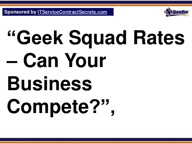 Your Computer Repair Price List Should Consider Geek Squad and Verizo…