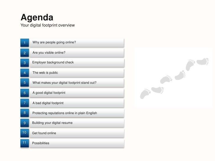 Your digital footprint in a social media world Slide 2
