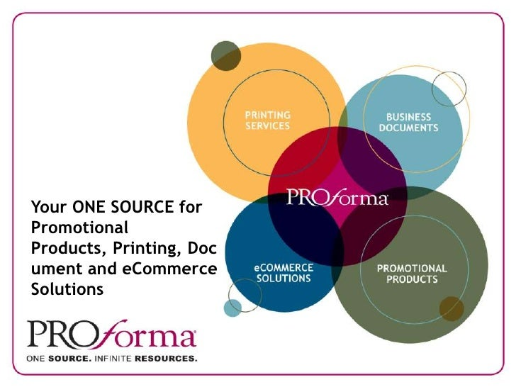 Your ONE SOURCE for Promotional Products, Printing, Doc ument and eCommerce Solutions