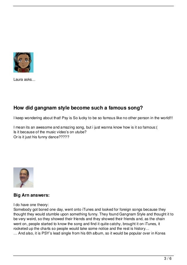 Your Questions About Gangnam Style Meaning