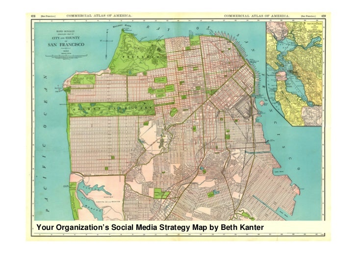 Your Organization's Social Media Strategy Map by Beth Kanter