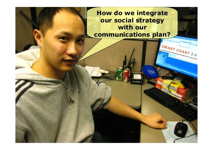 Some differences in tactics       COMMUNICATIONS                                SOCIAL MEDIA         Brand in control     ...