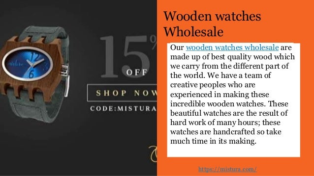 Engraved Wooden Watches - Best Watches in the World