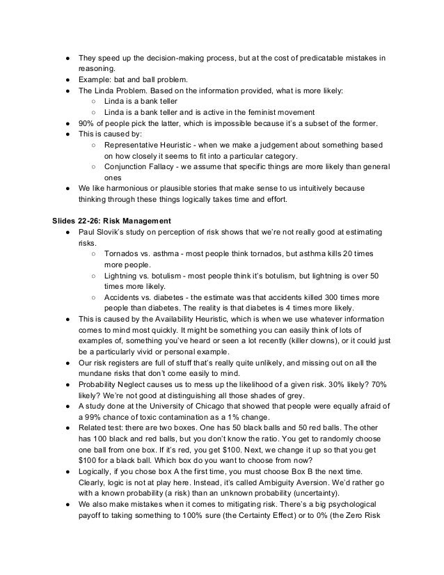 infs5001 project management notes This section provides the schedule of course topics and lecture notes from selected sessions subscribe to the ocw newsletter  project uncertainty management  25 .