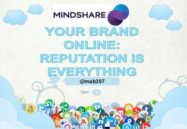 @ mab397 | mab397.wordpress.com | Head of Social, Mindshare | AustraliaStart@mab397