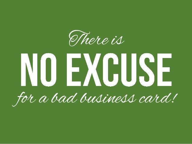 Your Business Card Sucks! Slide 3