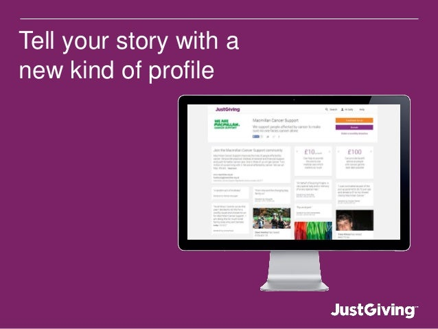 Tell your story with a new kind of profile
