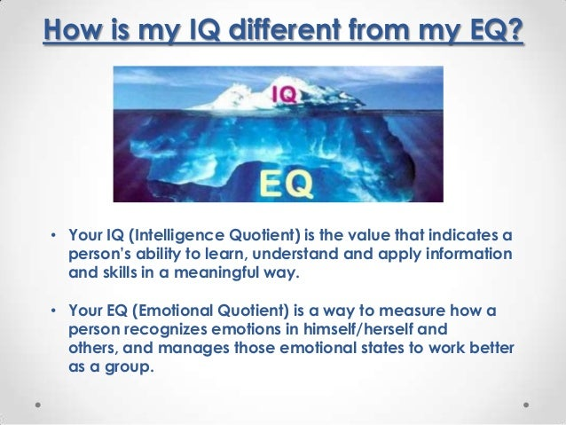 "intelligence versus iq Is there such a thing as ""emotional intelligence"" if so, how do emotional intelligence and ""critical intelligence"" differ do they work together are there two human brains."