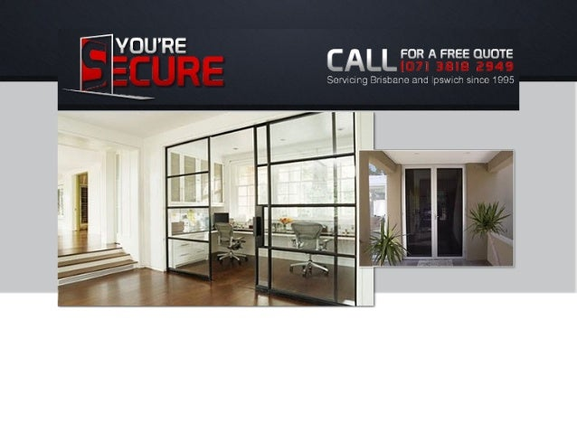 Contents: About Services  Security Screens  Blinds  Windows & Doors  Integral stainless steel security  Commercial ...