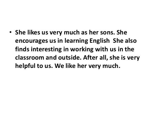 essay on my favourite teacher